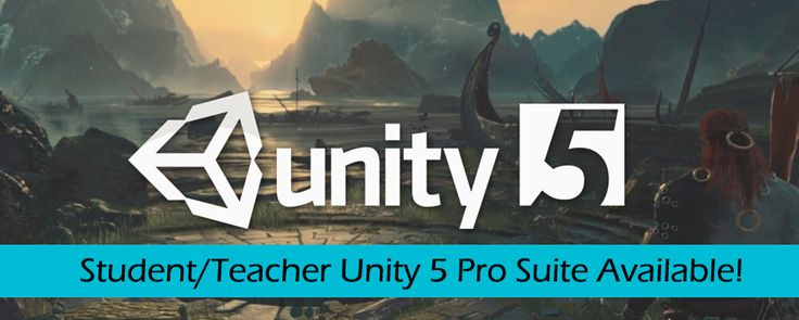 Unity 5 Pro Suite Available for Students