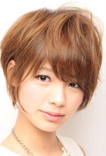 ReX hair.international|フリンジとふんわりバングが大人っぽいショートパーマ