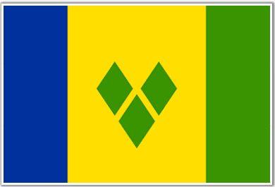 Bandera st Vincent Grenadines