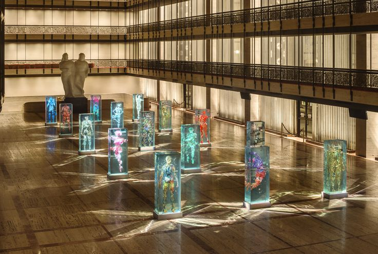 X   Dustin Yellin's Glass Ballerinas Take Center Stage at Lincoln Center | The Creators Project