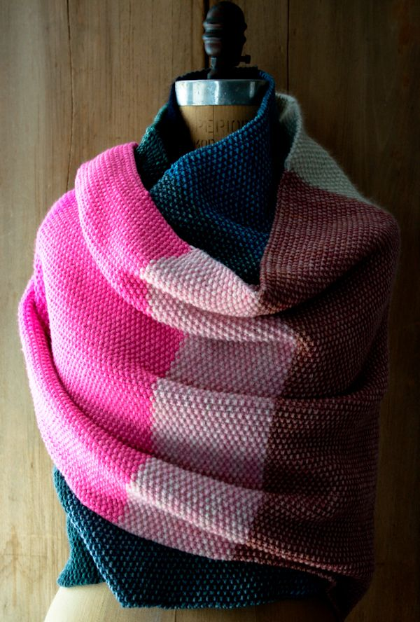 Amazing Seed StitchWrap - Knitting Crochet Sewing Crafts Patterns and Ideas! - the purl bee