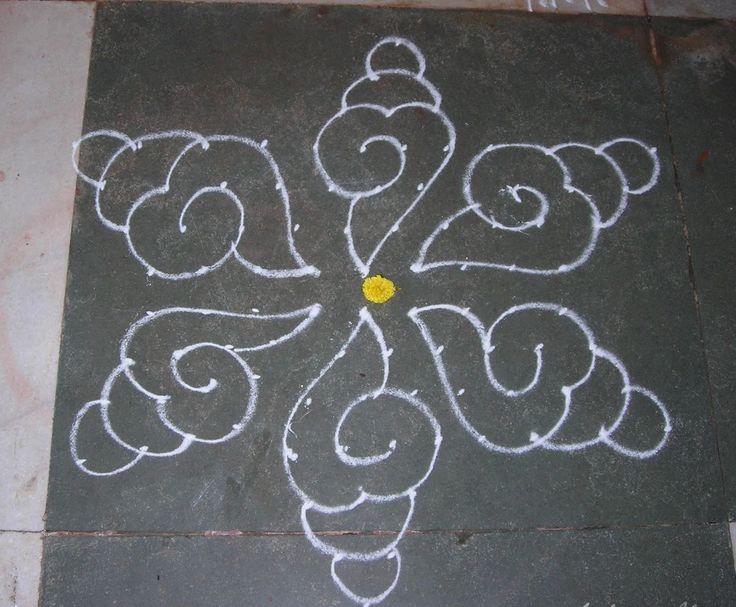 Waldorf ~ 5th grade ~ Ancient India ~ Rangoli / Kolam ~ Morning Lesson Wake-up Form
