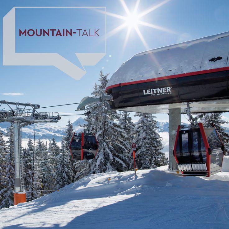 Die 10er EUB Wagstättbahn, Comfort Line von Leitner ropeways, im KitzSki Skigebiet (Kitzbühel/Kirchberg). ©KitzSKi #mountaintalk #photooftheday #potd #leitnerropeways #kitzski