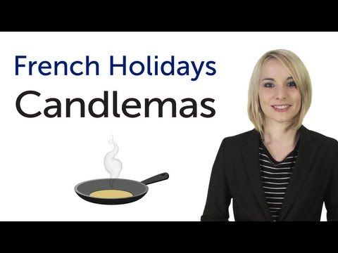 ▶ Learn French Holidays - Candlemas - YouTube Easy French with English subtitles.