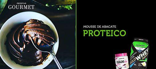 NeoNutri - Suplementos Nutricionais, whey protein, barras proteicas... | Delicioso Mousse Proteico de Abacate com Whey Protein