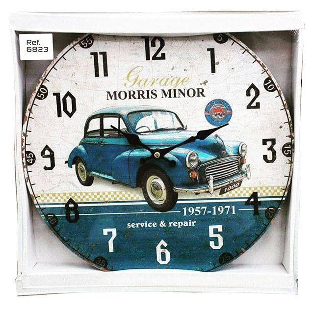 Nuevos Relojes, nueva colección linea #Vintage $20.900  En #DecoOutlet PBX: 3222023 #Decoración #Relojes #Estilo #Paris #Retro