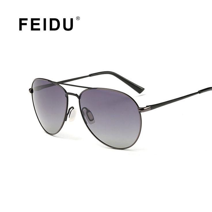==> [Free Shipping] Buy Best FEIDU 2016 New Arrival Polarized Pilot Sunglasses Men Women Alloy Frame Driving Sun glasses For Men Women Gafas Oculos De Sol Online with LOWEST Price   32643275844