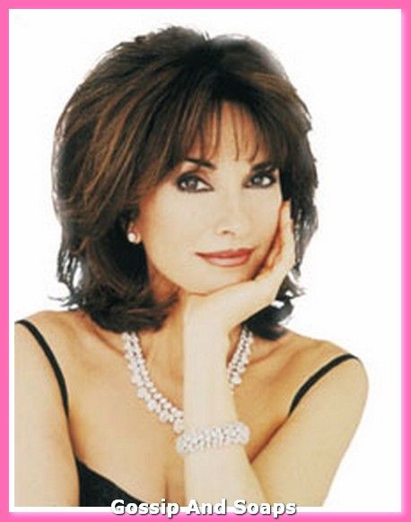 hairstyle for women over 50 (of course Susan Lucci would be gorgeous BALD, but love this style nonetheless!)