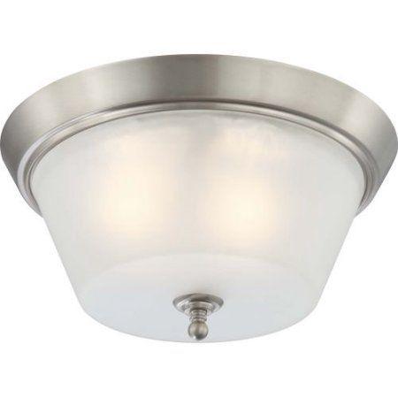 Nuvo Lighting 60/4153 Ceiling Fixtures Surrey Indoor Lighting Flush Mount ;Brushed Nickel, Silver