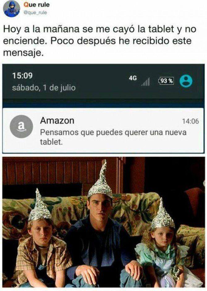 Amazon nos espia y esta es una prueba