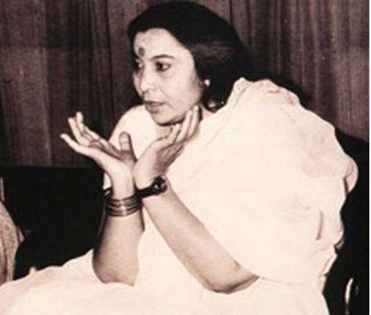 Shri Mataji Nirmala Devi, the founder of Sahaja yoga meditation