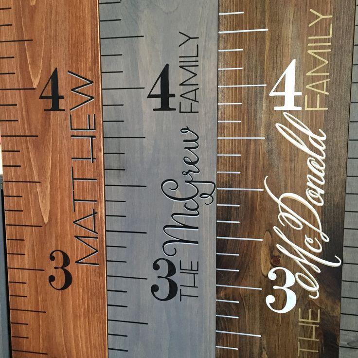 growth chart wood growth chart ruler custom growth chart by 937designs on etsy https