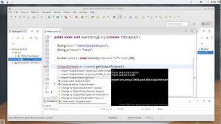 48 JAVA Networking Socket Class http://ift.tt/2nOOY3r تعلم لغة جافا شبكات دورة جافا مستوى متقدم شرح Java Networking كورس Java محمد عيسى المستوى الثالث