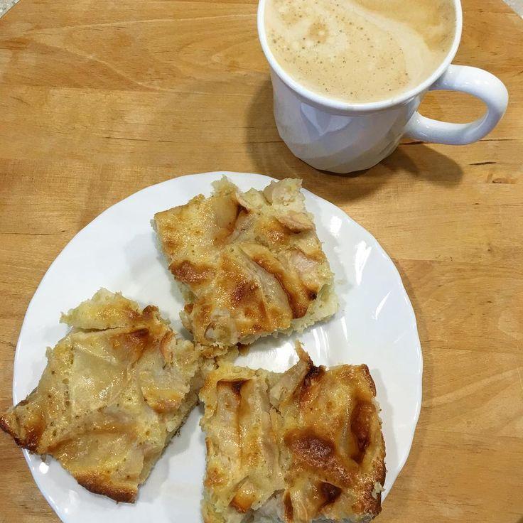 Если у вас есть 10 минут свободного времени немного яблок в холодильнике и желание съесть вкусный пирог то ставьте греться духовку. У меня электрическая чудо-духовка и я выбираю режим вентиляции для выпечки с температурой 160 гр. Чистите 3-4 средних яблока и режете средними кусочками. В миске смешиваете 2 яйца 1 стакан муки 1 стакан сахара 1ч.л.разрыхлителя и на глаз молока или сметаны чтобы получилось тесто по консистенции густая сметана. Добавляем в тесто яблоки перемешиваем и в форму…