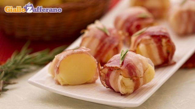 Bocconcini di patate formaggio e pancetta