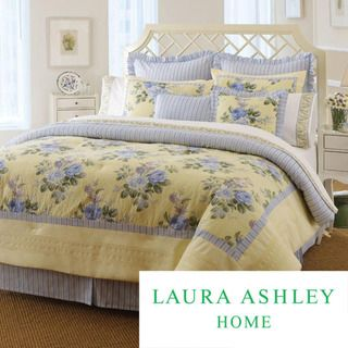 Laura Ashley Caroline 4-piece Comforter Set