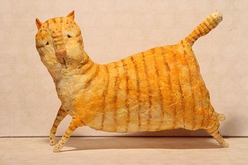 Мастер-класс про мартовского кота - 500 эскимо
