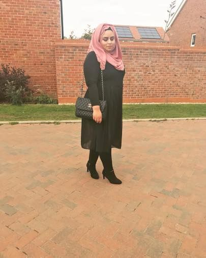 plus size hijab outfits for working women