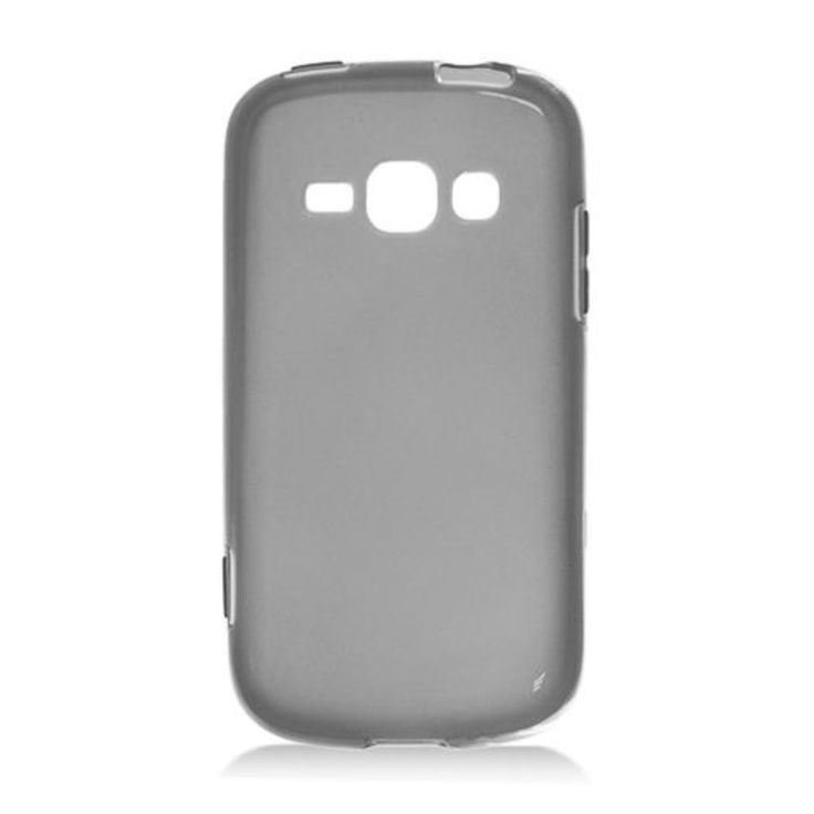 Insten Smoke Frosted TPU Rubber Candy Skin Case Cover For Samsung Galaxy Prevail 2 Boost Mobile/ Ring SPH-M840