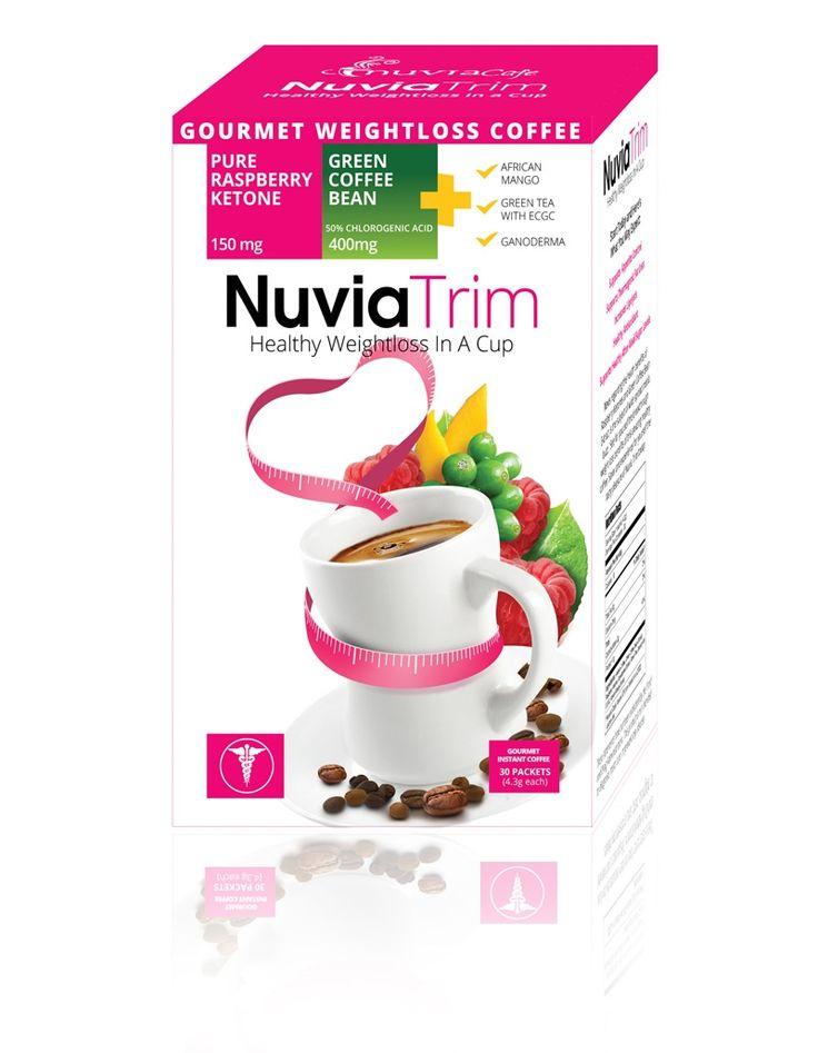 NuviaTrim Gourmet Weight Loss Coffee $25