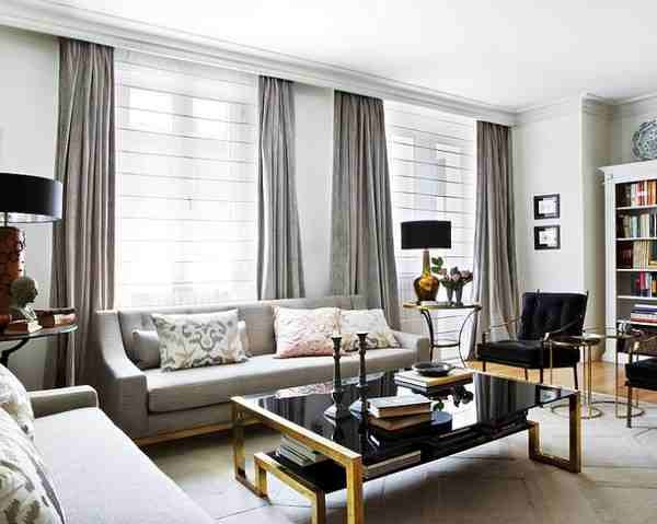 Die besten 25+ Grey curtains for the home Ideen auf Pinterest - Gardinen Wohnzimmer Grau