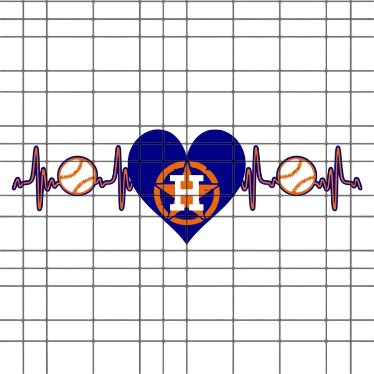 Download Houston astros heartbeat SVG, DXF, EPS, PNG Instant ...