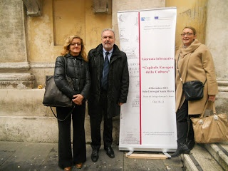 Mantova at the presentation of the call for proposals in Rome, December 4th, 2012