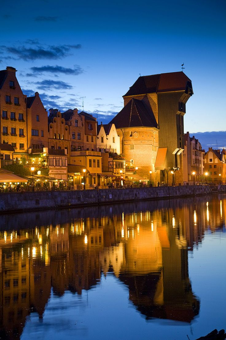 The Waterfront, Gdansk, Poland - Jim Zuckerman Photography