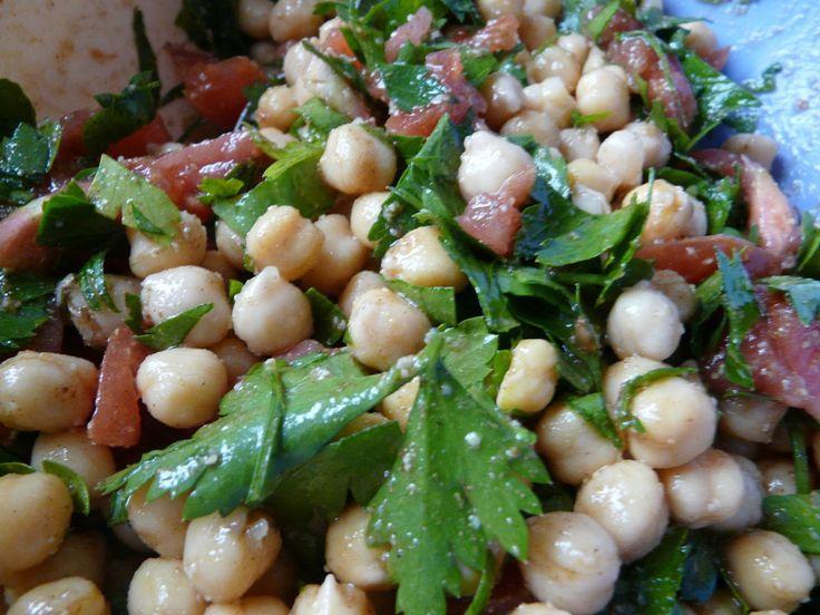 Recettes d'une mère de famille nombreuse: Salade de pois chiches