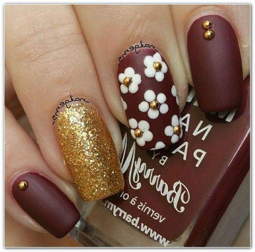 Nail Art Design Flower 168