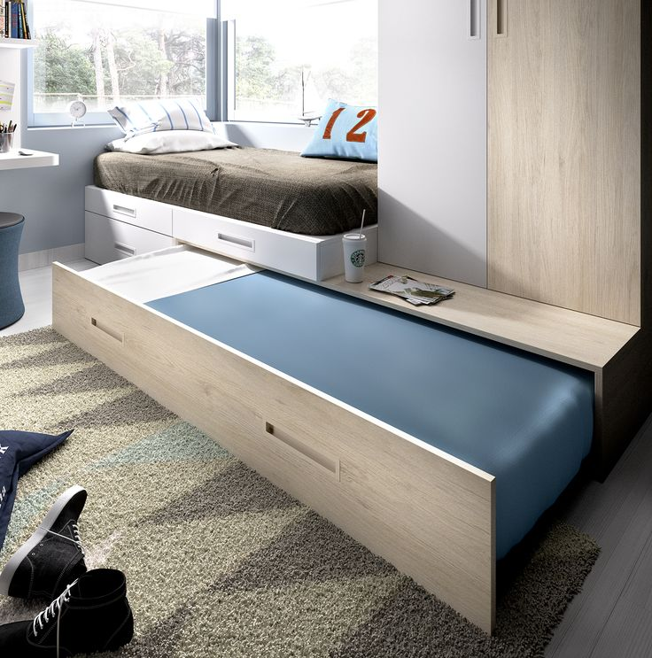 Mejores 28 im genes de camas para dormitorios con poco - 3 camas en poco espacio ...