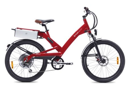 A2B-VELOCITI Specification- *450w power output A2B and Ultra Motor *TIG welded 6061 aluminium frame *Sanyo Lithium 36V/13,2Ah Battery *Battery range 40 km *7-speed Shimano Alivio Rear Derailer *24 x 2,35 Kenda Tires