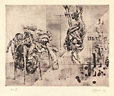 Zdeněk Beran - Muchel - detail díla