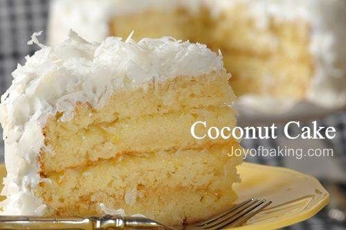 Coconut cake with pineapple filling is one of my favorites. My step-father spoiled me. He always made a coconut cake with pineapple filling for my birthday. He made everything from scratch.