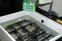 Schoonmaaktips voor gietijzeren pannendragers, keuken, #schoonmaken