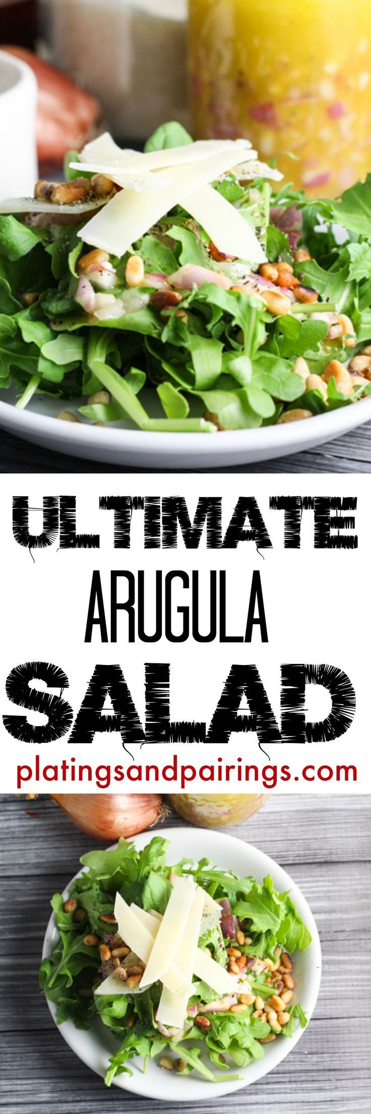 Such a simple, tasty salad that pairs with anything!