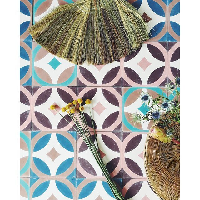 We have worked with tiles today, and we are captivated by the colors - what about you? #tiles #tinekhome #tinek #homedecor #nordicliving #interior