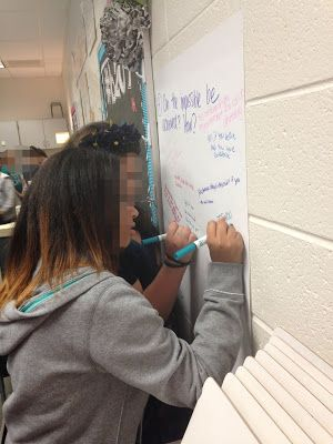 Musings from the Middle School: Strategy #1 - The Graffiti Wall (Engagement Strategies Series)
