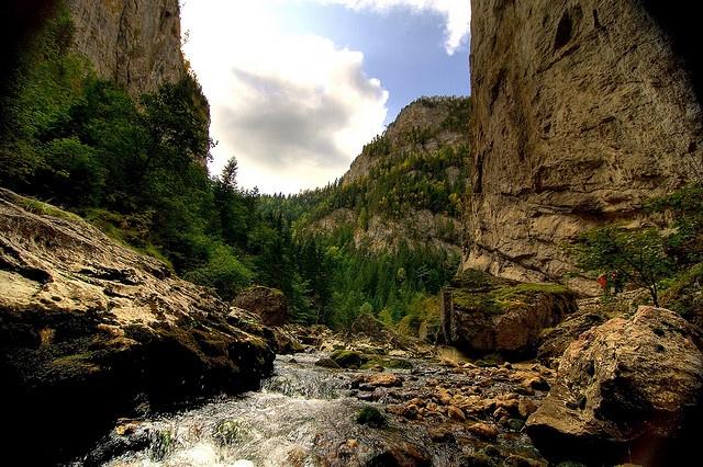 Bicaz River, Bicaz, Piatra Neamt, Romania by Chodaboy