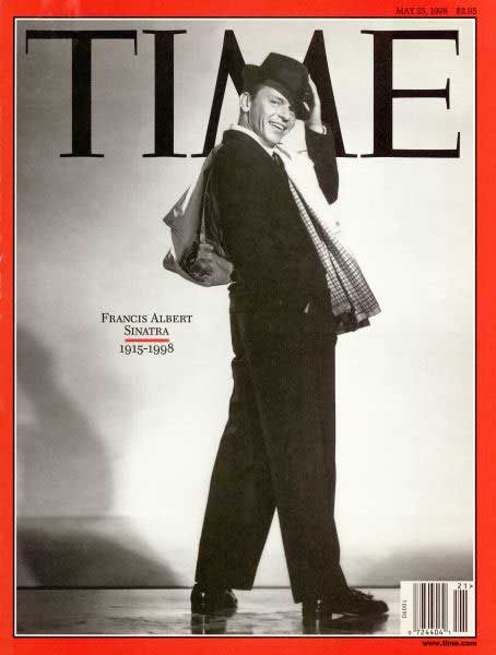 Classic Frank Sinatra in fedora magazine cover. Happy 100th BD Ol' Blue eyes 12/12/15