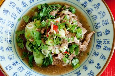Chinese five-spice pork one pot