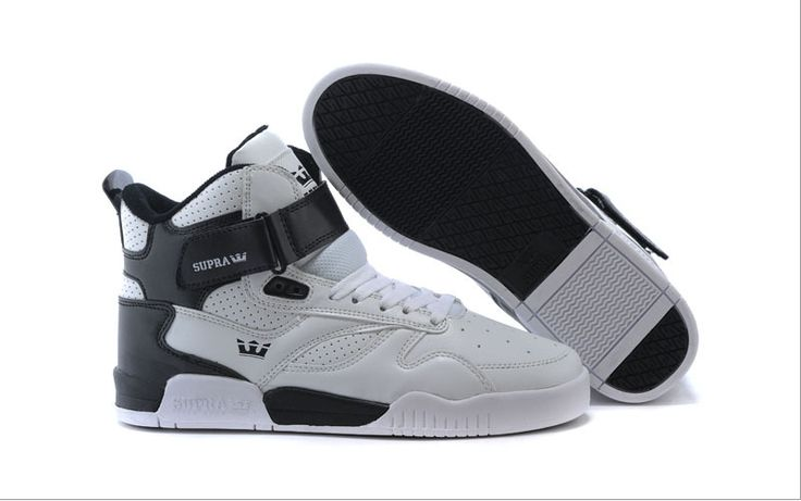 best service 0211d 1e8aa Mens Supra Bleeker White Black Trainers Shoes   Shoes   Pinterest   Trainer  shoes and ...