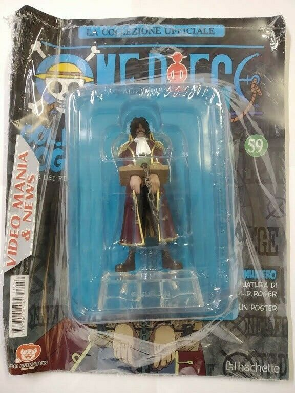 Figurine Collection Hachette ONE PIECE Gold Roger N° 59 Manga