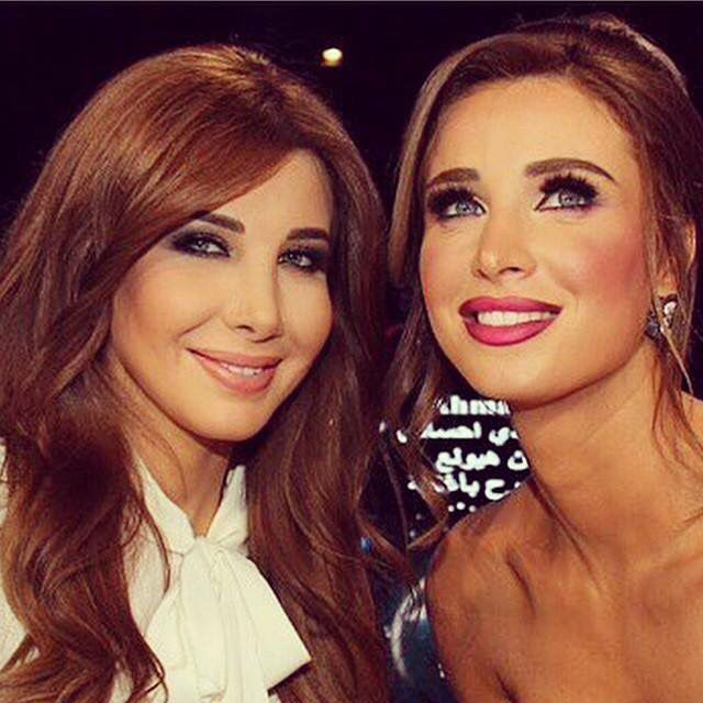 Anabella Hilal and Nancy Ajram ❤️❤️❤️❤️