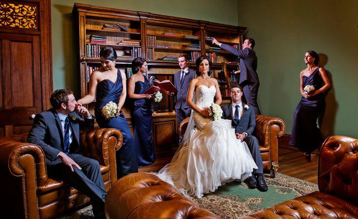 Gabbinbar Homestead Library Salt Studios| Toowoomba Wedding and Commercial Photography
