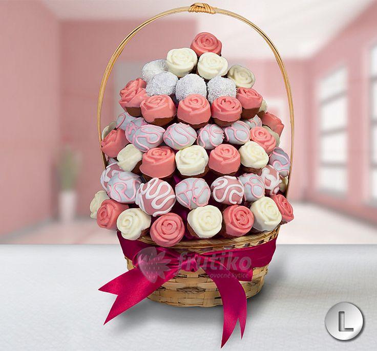 Úžasné svatební dorty v podobě kytice od Frutiko.cz