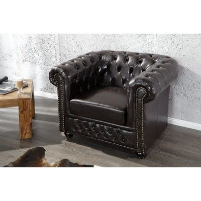 Chesterfield Dark I Armchair  #furniture #vintage #vintagecollections #homedecor #interiordesign #housegoals  #irenesworld #home