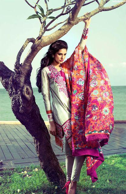 Elan Lawn Summer Collection 2013 with Nargis Fakhri