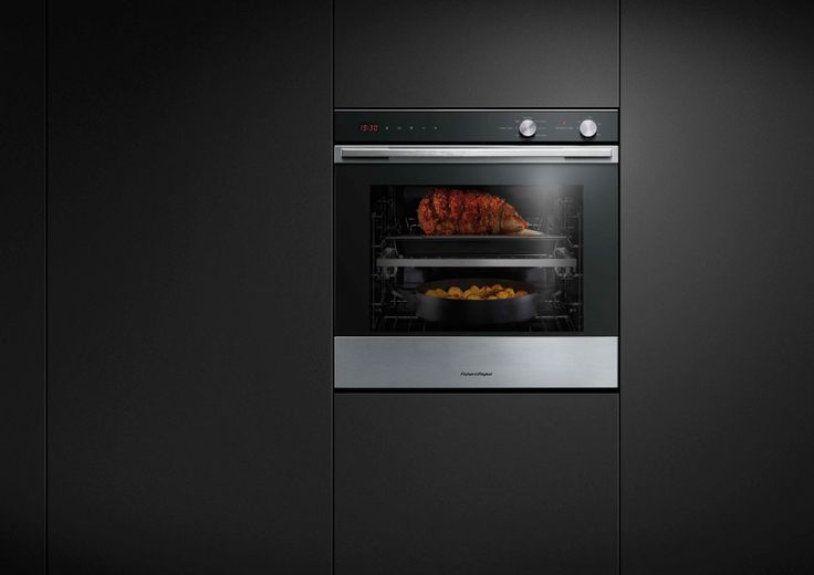 Fisher & Paykel 60cm Single 7 Function Built-in Oven (OB60SL7DEX1). This award-winning oven is built for performance, an intuitive control system allows for precise mode selection across seven cooking functions. The generous 77 litre internal capacity fits 30 percent more than traditional European ovens. This oven comes with optional catalytic liners that break down oil and fat splashes during cooking. The sleek lines and design detail match the rest of our kitchen appliance family.