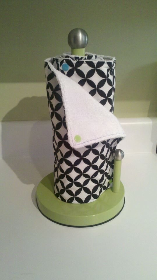 Reusable (Unpaper) Paper Towel Tutorial.   UPDATE 12May16, They are back!  Click here  to see my Etsy shop.     These have gotten quite a bi...